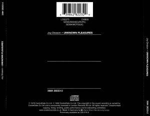 Joy Division: Unknown Pleasures (CD) - Bild 2