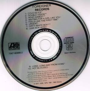 Foreigner: Records (CD) - Bild 2