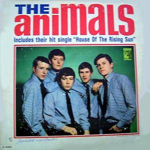 Cover - Animals, The: Animals (American Album), The