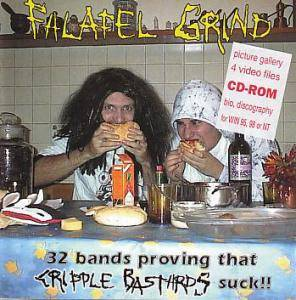Cover - Hated Principles: Falafel Grind - 32 Bands Proving That Cripple Bastards Suck!!