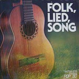 Folk, Lied, Song - Nachwuchsfestival Pop '80 - Deutsche Phono Akademie - Cover