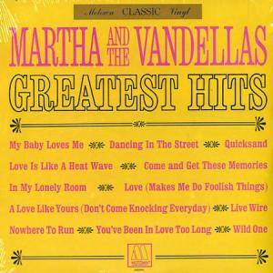 Cover - Martha And The Vandellas: Greatest Hits