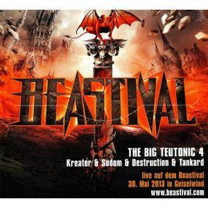 Kreator / Sodom / Tankard / Destruction: The Big Teutonic 4 (Split-Mini-CD / EP) - Bild 3