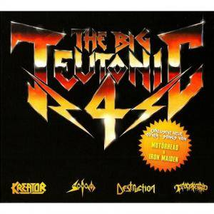 Kreator / Sodom / Tankard / Destruction: The Big Teutonic 4 (Split-Mini-CD / EP) - Bild 1