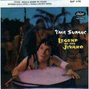 Cover - Yma Sumac: Legend Of The Jivaro. Part 1