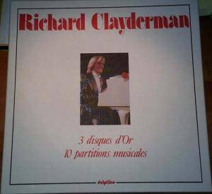 Cover - Richard Clayderman: 3 Disques D'or, 10 Partitions Musicales