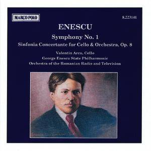 Cover - George Enescu: Symphony No. 1 / Sinfonia Concertante For Cello & Orchestra, Op. 8