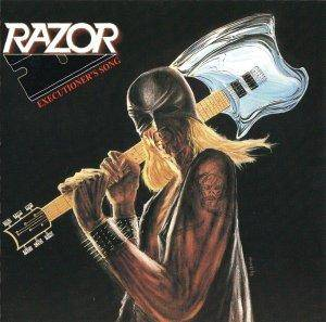 Razor: Executioner's Song - Cover