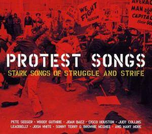 Cover - Oscar Brand: Protest Songs - Stark Songs Of Struggle And Strife