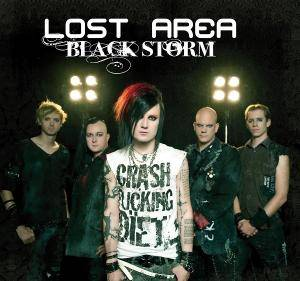 Cover - Lost Area: Black Storm