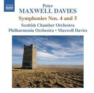 Cover - Peter Maxwell Davies: Symphonies Nos. 4 and 5