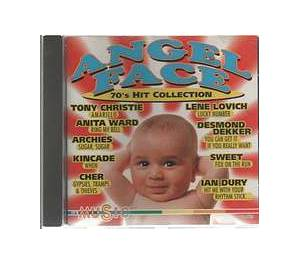 Cover - Lene Lovich: ANGEL FACE - 70's Hit Collection