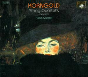 Erich Wolfgang Korngold: String Quartets Complete - Cover