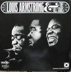 Cover - Louis Armstrong & His All-Stars: I Love Jazz