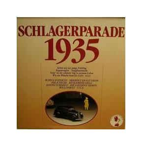 Schlagerparade 1935 - Cover