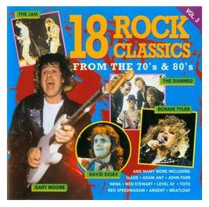 Cover - Adam Ant: 18 Rock Classics From The 70's & 80's Vol. 3