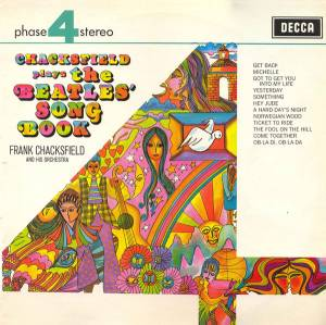Cover - Frank Chacksfield & His Orchestra: Chacksfield Plays The Beatles' Song Book