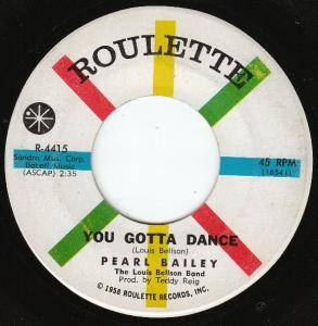 Cover - Pearl Bailey: You Gotta Dance
