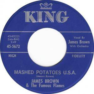 Cover - James Brown & The Famous Flames: Mashed Potatoes U.S.A.