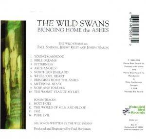 The Wild Swans: Bringing Home The Ashes (CD) - Bild 2