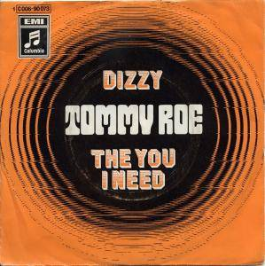 Tommy Roe: Dizzy - Cover