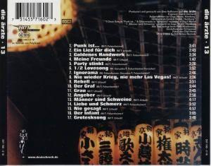 Die Ärzte: 13 (CD) - Bild 2