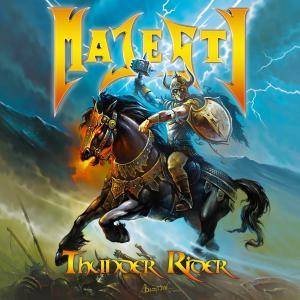 Majesty: Thunder Rider - Cover