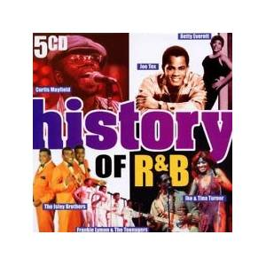 History Of R&B - Cover