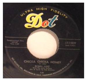 Cover - Robin Luke: Chicka Chicka Honey
