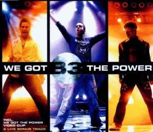 Cover - B3: We Got The Power