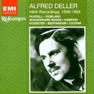 Cover - Thomas Morley: Alfred Deller - HMW Recordings, 1949-1954