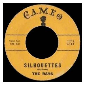 Cover - Rays, The: Silhouettes