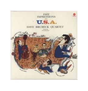 Cover - Dave Brubeck Quartet, The: Jazz Impressions Of The U.S.A.