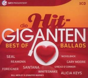 Hit Giganten - Best Of Ballads, Die - Cover