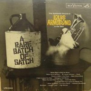 Louis Armstrong: Rare Batch Of Satch, A - Cover