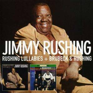 Cover - Jimmy Rushing: Rushing Lullabies + Brubeck & Rushing