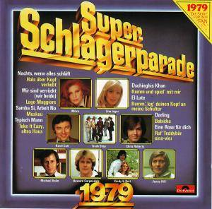 Super Schlagerparade 1979 - Cover