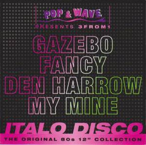 Pop & Wave Presents 3from1 Italo Disco - Cover