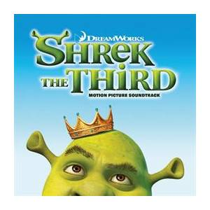 Shrek The Third - Motion Picture Soundtrack - Cover