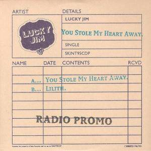 Cover - Lucky Jim: You Stole My Heart Away