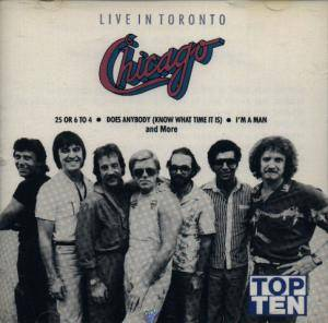 Chicago: Live In Toronto - Cover