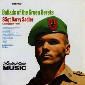 Cover - Barry Sadler: Ballads Of The Green Berets