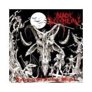 Black Witchery: Upheaval Of Satanic Might - Cover