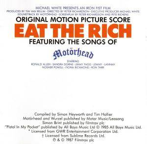 Eat The Rich - Featuring The Songs Of Motörhead (CD) - Bild 2