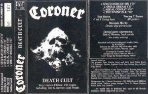 Coroner: Death Cult - Cover