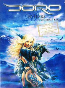 Doro: 20 Years A Warrior Soul - Cover
