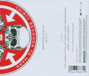 Thirty Seconds To Mars: A Beautiful Lie (CD) - Bild 2