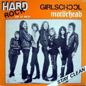 Cover - Girlschool: Stay Clean