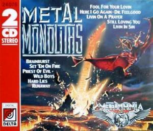 Metal Monoliths - Cover