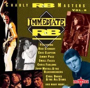Cover - Poets, The: Charly R&B Masters Vol. 8 - Immediate R&B